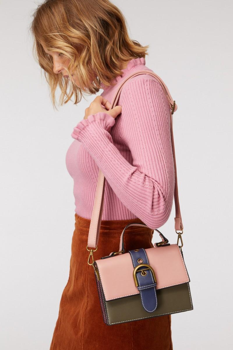 Coloured Buckle Bag