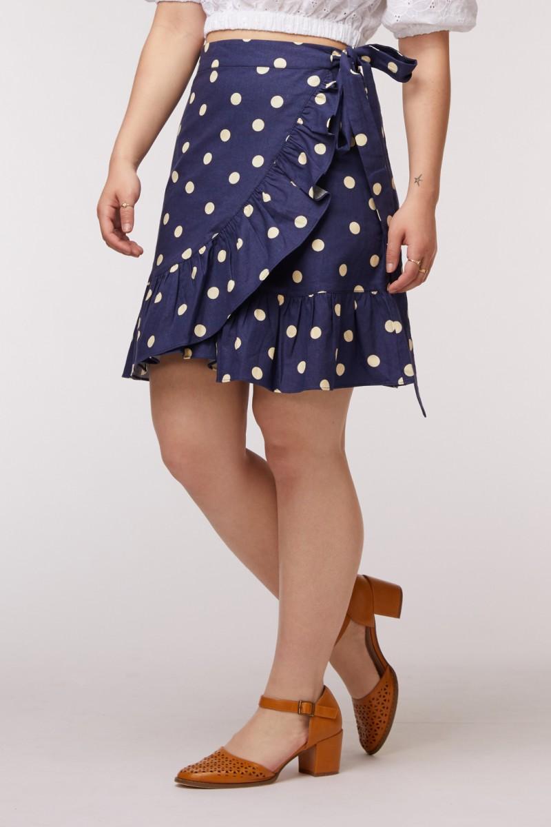 Gina Wrap Skirt