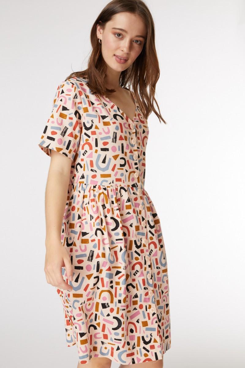 Mila Geo Dress
