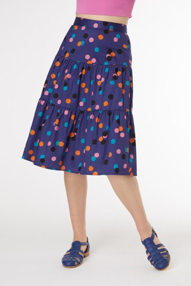 Nancy Spot Skirt