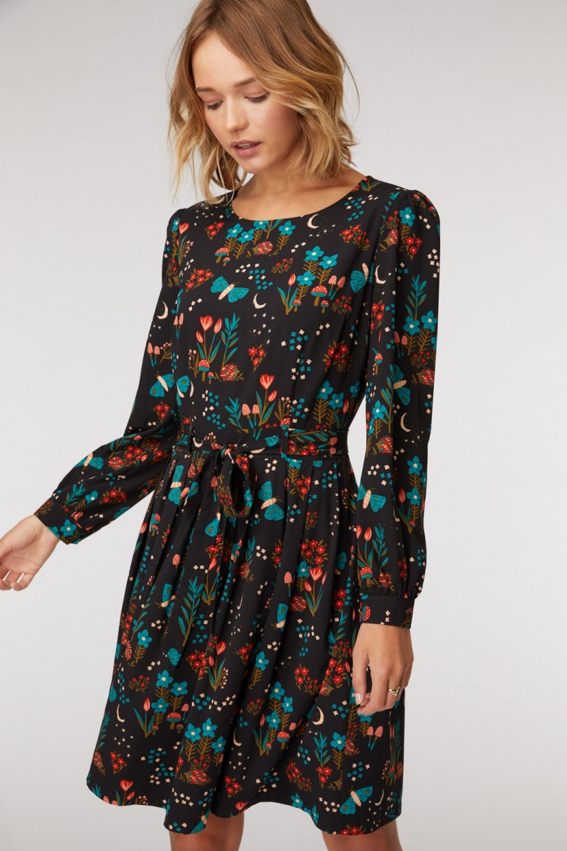 Nocturnal Garden Dress