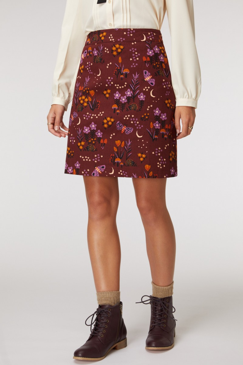 Nocturnal Garden Skirt