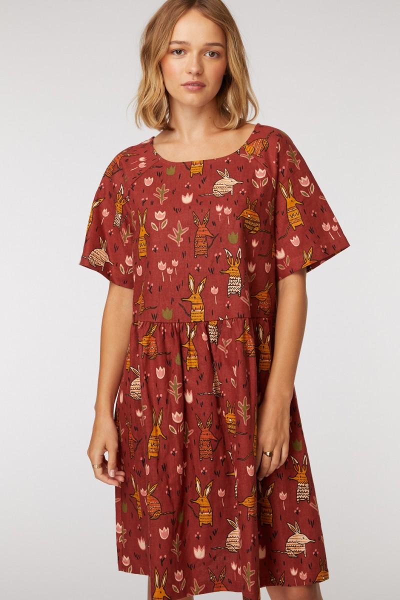 Bilby raglan dress