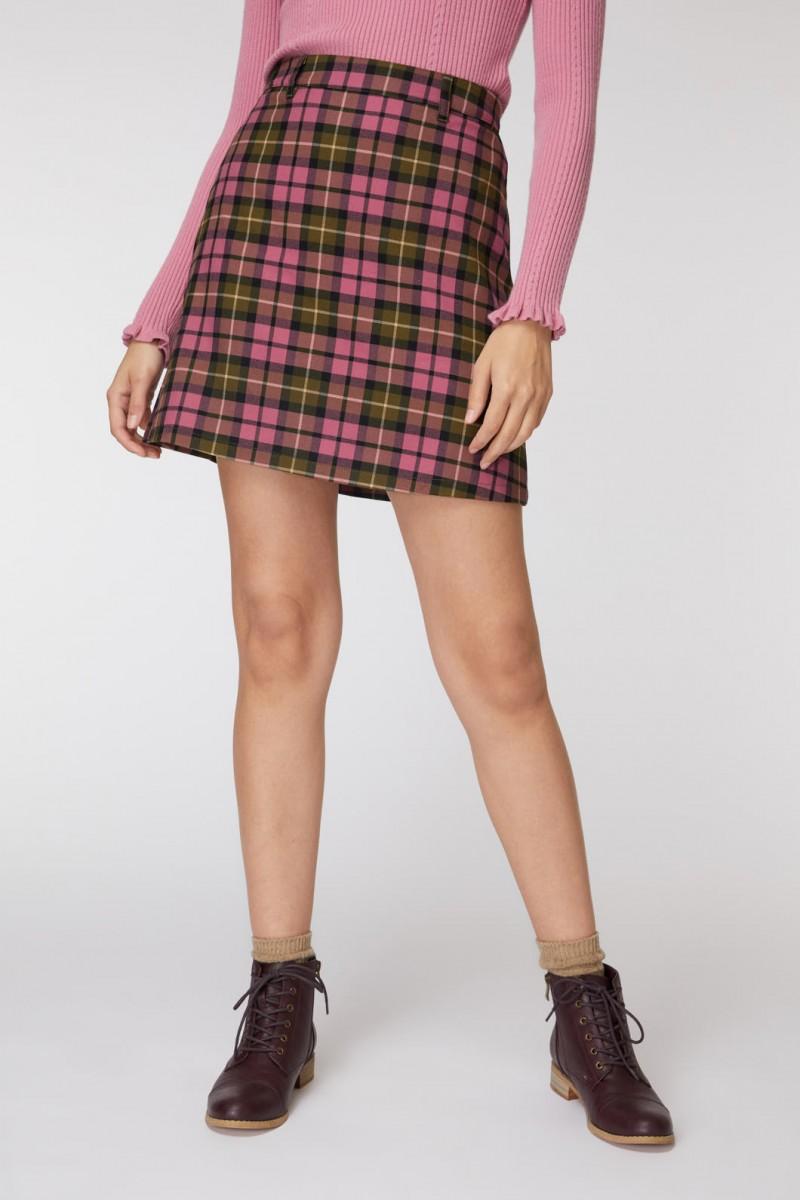Georgie Check Skirt