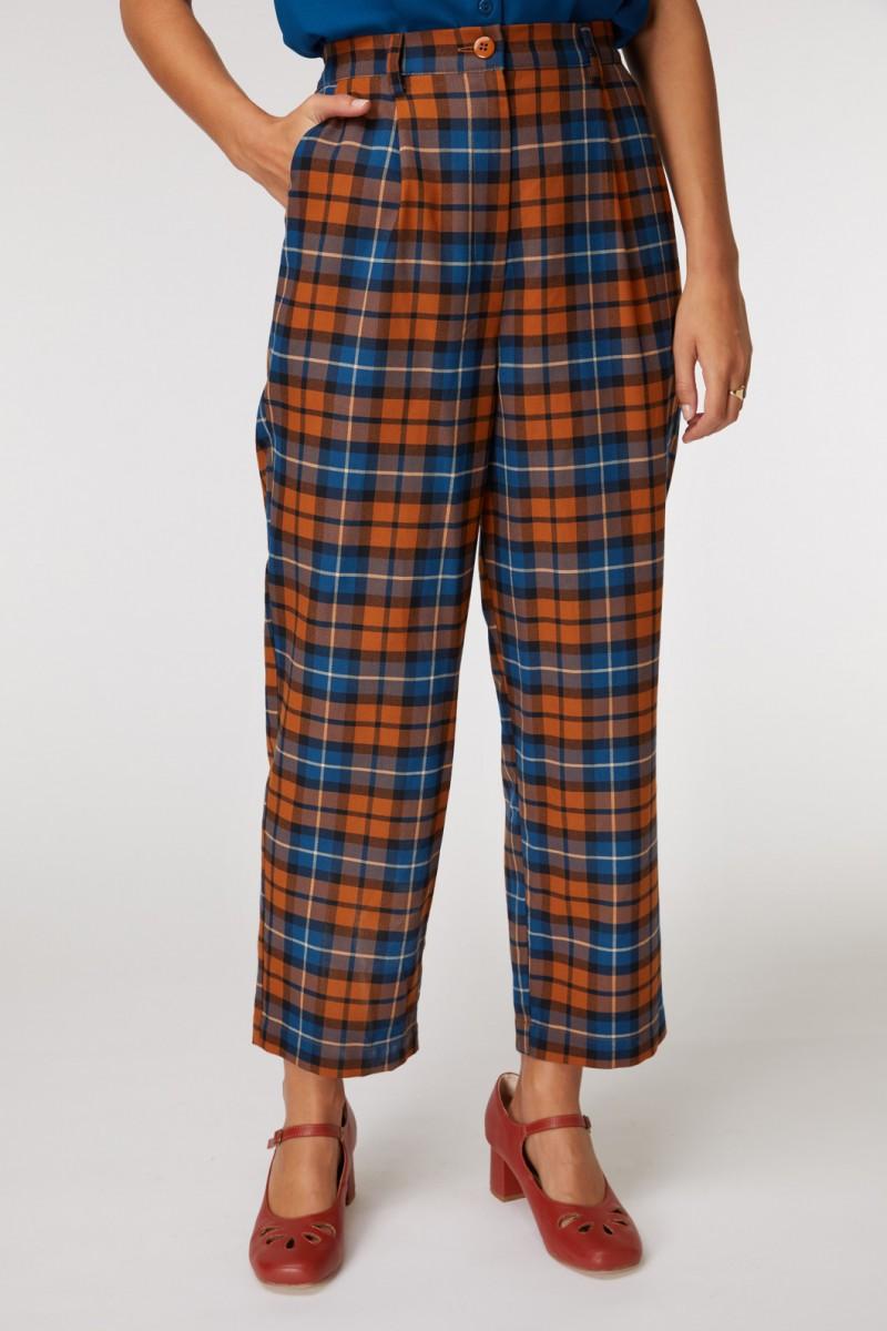 Georgie Check Pant