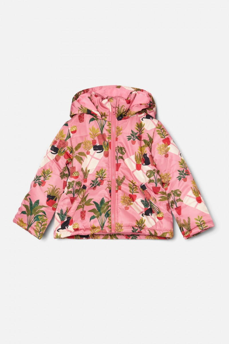 Cats &Things Puffer Jacket