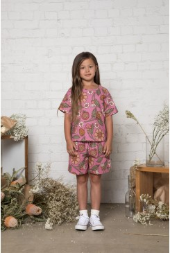 Fruits & Flora Kids SS Tee