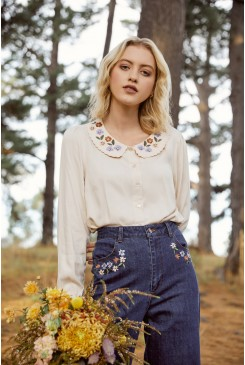 Juliette Embroidered Blouse