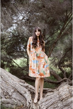 Woodland Bear Dress