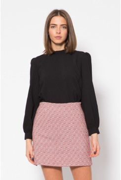 Maxine Jaquard Skirt