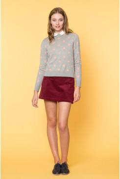 Winter Spot Sweater