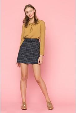 Caterina Check Skirt