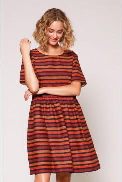 Donna Stripe Dress