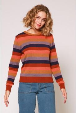 Raphaelle Stripe Sweater