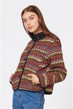 Brocade Zig Zag Jacket