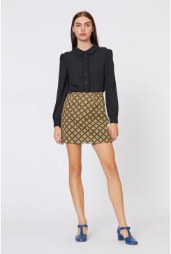 Brocade Daisy Skirt
