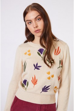 Bronte Embroidery Knit