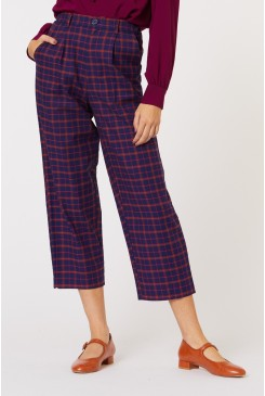 Nina Check Pants