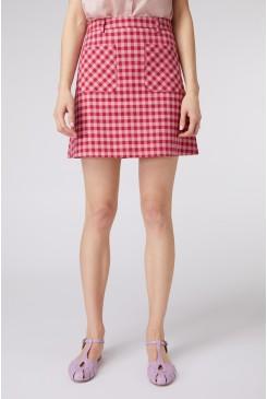 Jacky Check Skirt