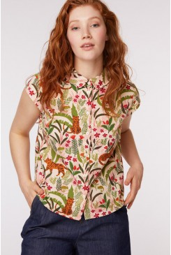 Tiger & Chameleon Blouse