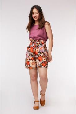 Sunny Flower Shorts
