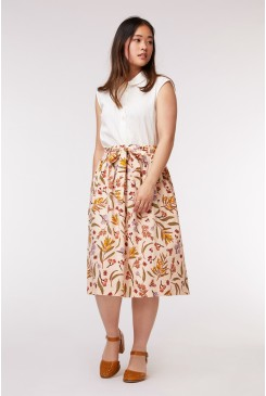Golden Flora Skirt