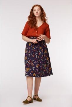 Golden Flora Skirt