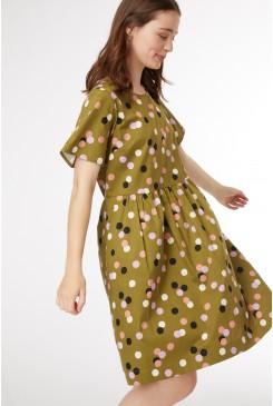 Nancy Spot Dress
