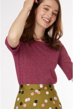 Shimmer Knit Top