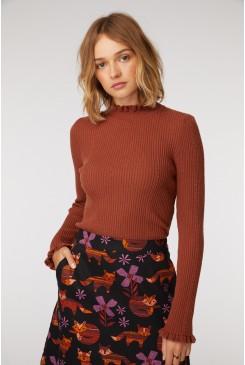 Odessa Frill Knit