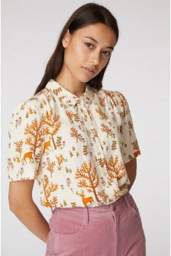 Forest Deer Blouse