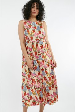 Flower Pots Dress