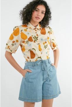 Pear & Flower Blouse