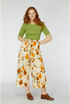 Pear & Flower Culotte