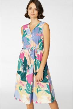 Camille Tie Waist Dress