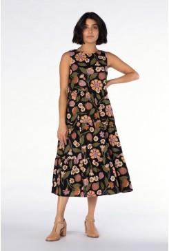 Fruits And Flora Dress