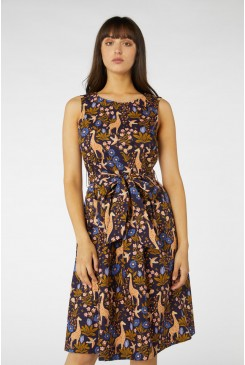 Giraffe & Flower Dress