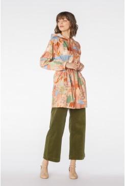 Woodland Bear Long Raincoat