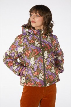 Garden Flora Puffer Jacket