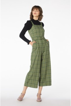Billy Check Jumpsuit