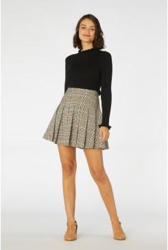 Ashley Check Skirt