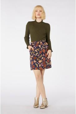 Forest Print Skirt