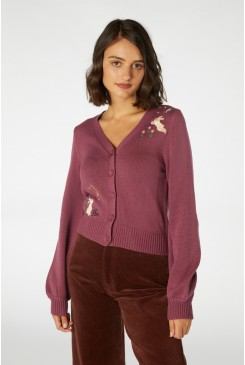 Midnight Rabbit Cardi