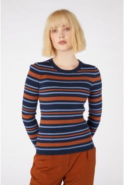 Orla Stripe Knit Top