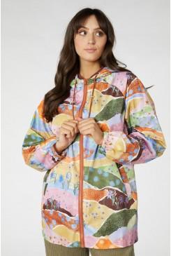 Daisy Landscape Raincoat