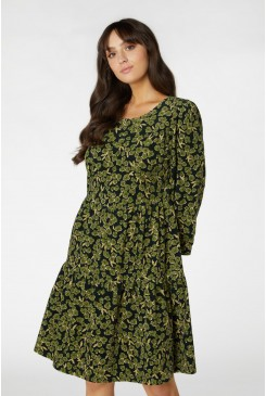 Phoebe Ditsy Cord Dress