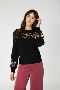 Winona Embroidered Sweater