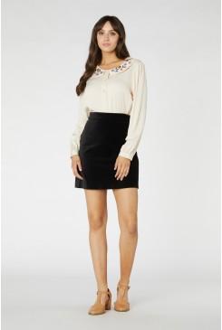 Rachel Velvet Skirt