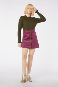 Samantha Cord Skirt