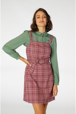 Billy Check Pinafore